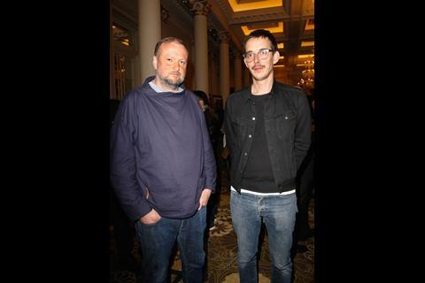 - Andy Starke (L) and Director Jim Hosking (R) attend The Big Sundance London Party at the Langham Hotel on June 2, 2016 in London, England